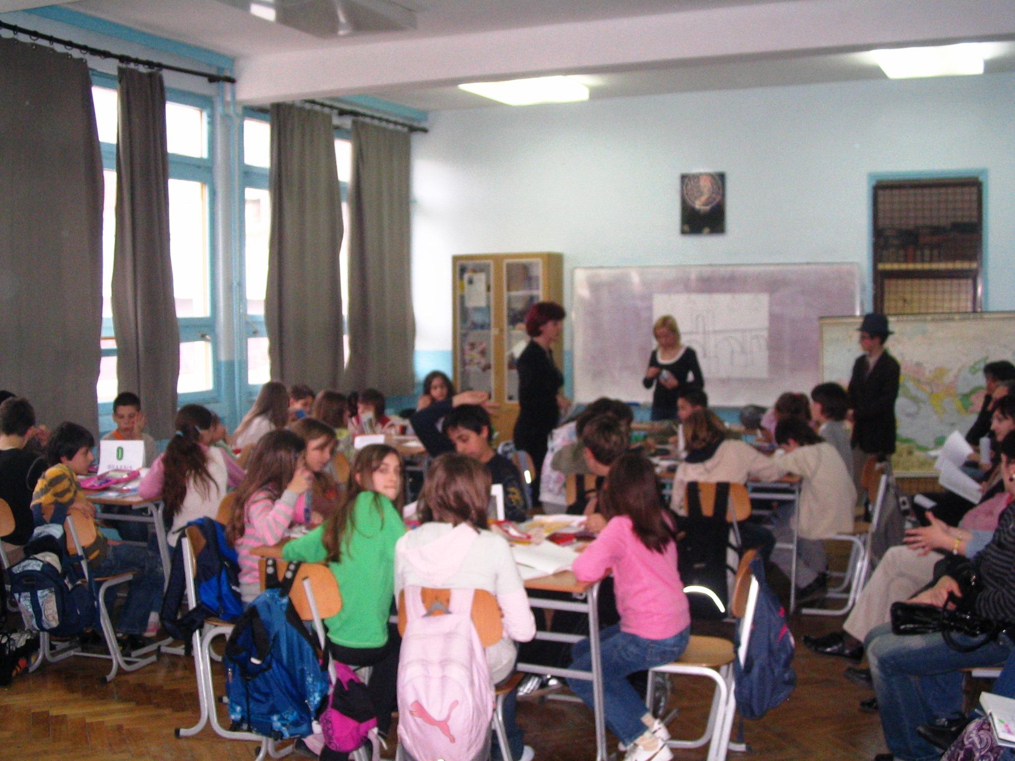 Jelena, učenici i ja