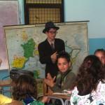Ivo Andrić sa učenicima