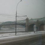 zamrznuta reka Moskva