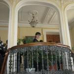 """Balkon na kome su snimane i scene za """"Sibirskog berberina"""""""